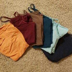 Lot of tank tops